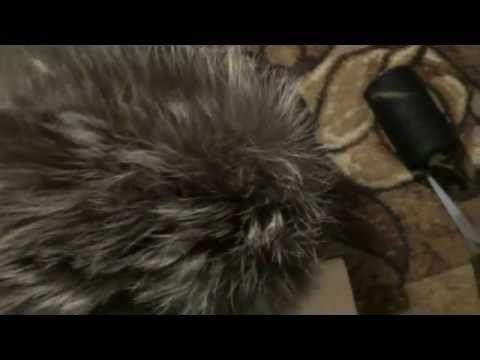 Как сделать женскую шапочку из кусочков меха