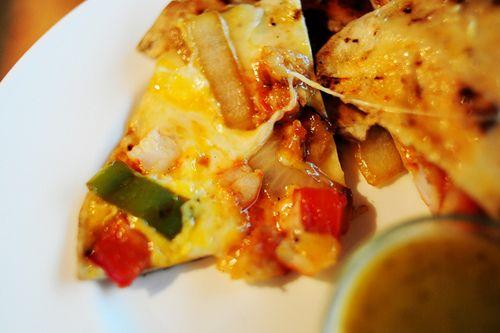 Quesadillas de Camarones  http://thepioneerwoman.com/cooking/2011/01/quesadillas-de-camarones/#