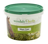 MARE CARE 2.2LB (1KG) @ by BATTLES. $55.47. MARE CARE 2.2LB (1KG). Mare Care by Wendals Herbs - horse health supplement with raspberry leaves. Helps ease birth and support cleansing. Ideal blend for the foaling and lactating mare combines several herbs known for their beneficial qualities, including raspberry leaves. Contains balm, basil, chamomile, fenugreek seed, garlic, nettles, raspberry leaves and seaweed. Give average horse 2-3 scoops daily at least one month bef...