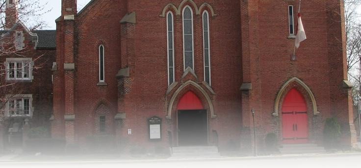 St. Luke's Episcopal Church in Ypsilanti, MI where my Vaughan family worshipped.