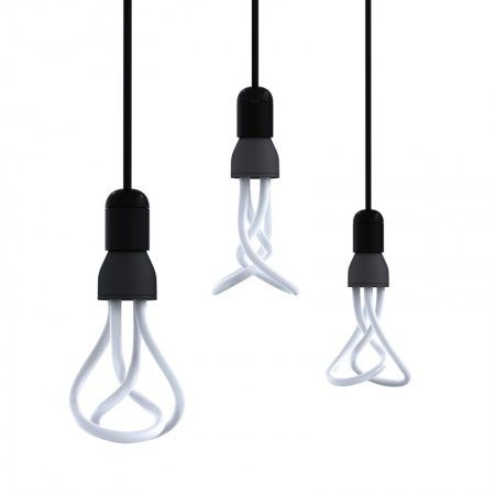 Plumen fluorescent light bulbs.  If you must use this awful kind of light, at least use a Plumen bulb...