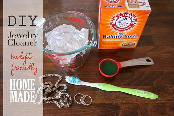 17 best images about jewelry inspirations on pinterest for How to clean jewelry with baking soda