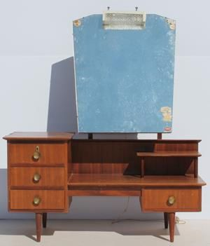 Condition:  Used  Vintage Retro Duros Dressing Table with Mirror  size: 1300 L x 470 W x 700 H  @R1999  Call 0767064700None