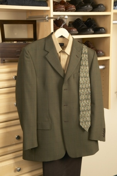 A Well Placed Valet Rod Is A Must Have In Any Closet