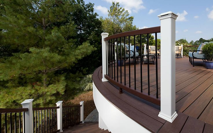 Trex Transcend Decking In Vintage Lantern And Transcend