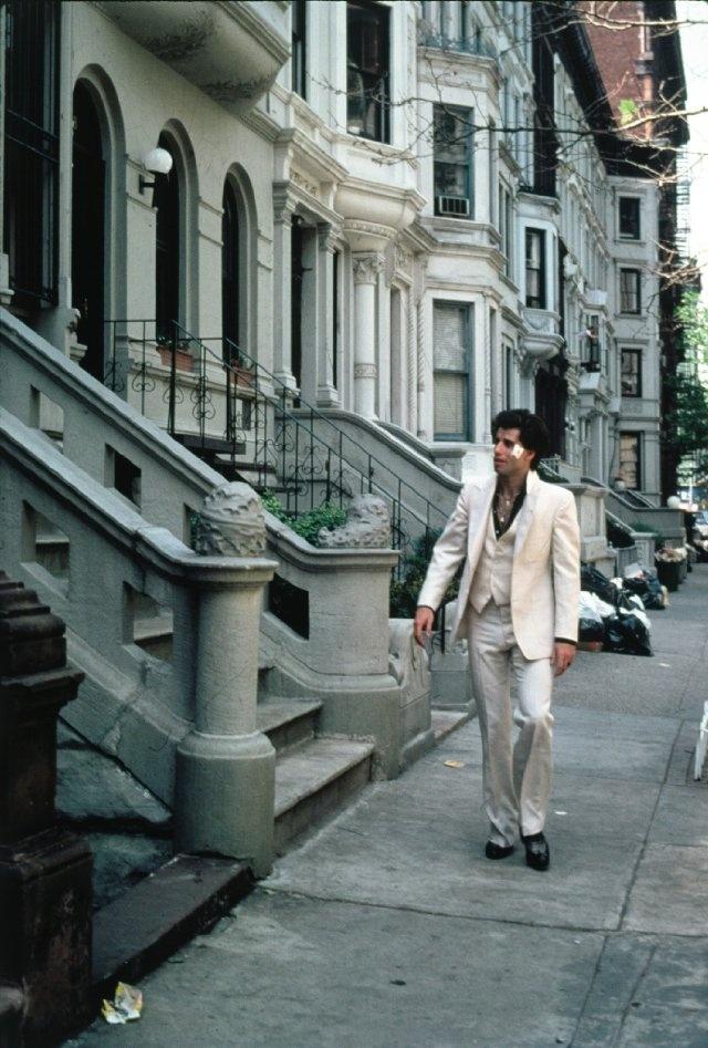 """Still of John Travolta in """"Saturday Night Fever"""", 1977"""