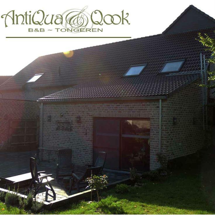 De AntiQua & Qook Bed en Breakfast ligt maar 4km van de beroemde Antiekmarkt in Tongeren, in een traditionele gerestaureerde Belgische boerderij.