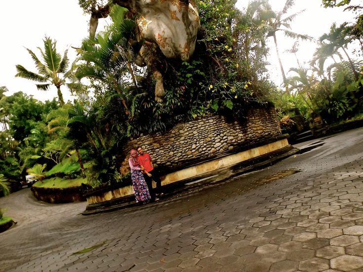 me and my hubby on the Park at The Royal Pita Maha Resort, Bali. #ALIKA