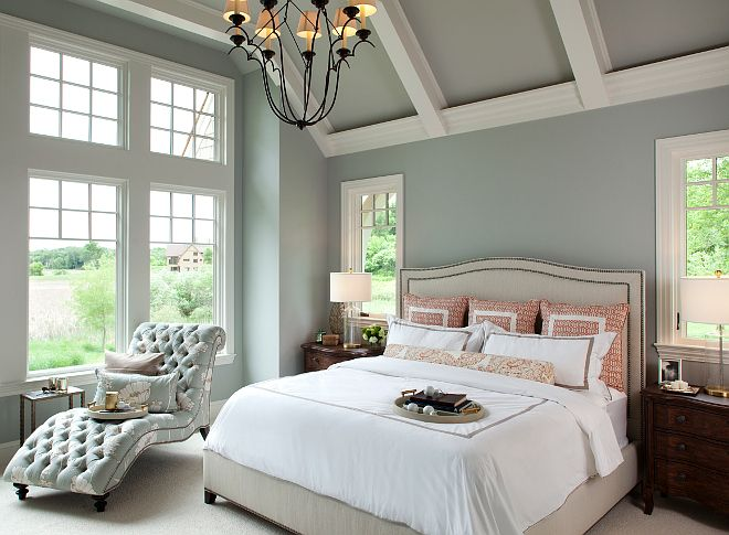 Best 20 ceiling paint colors ideas on pinterest for Perfect blue grey paint color
