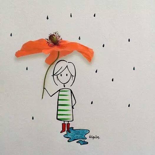 Chuva Como pode ser tão fofinho