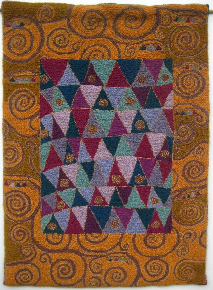 159 Best Rug Hooking Backgrounds And Borders Images On