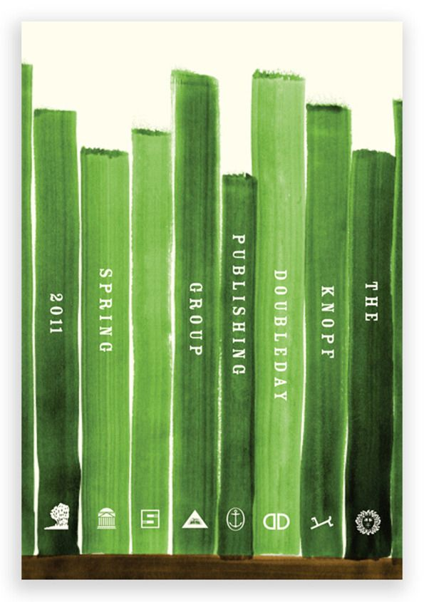 Knopf Doubleday catalog, Spring 2011. Cover design: Linda Huang with Jason Booher.