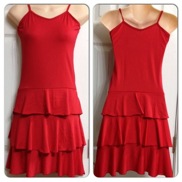 NWOT Flowy Summer dress XS-M Perfect for summer! Made out of very stretchy material! Unstretched, chest measures 15 inches and lent his about 34 inches. Dresses