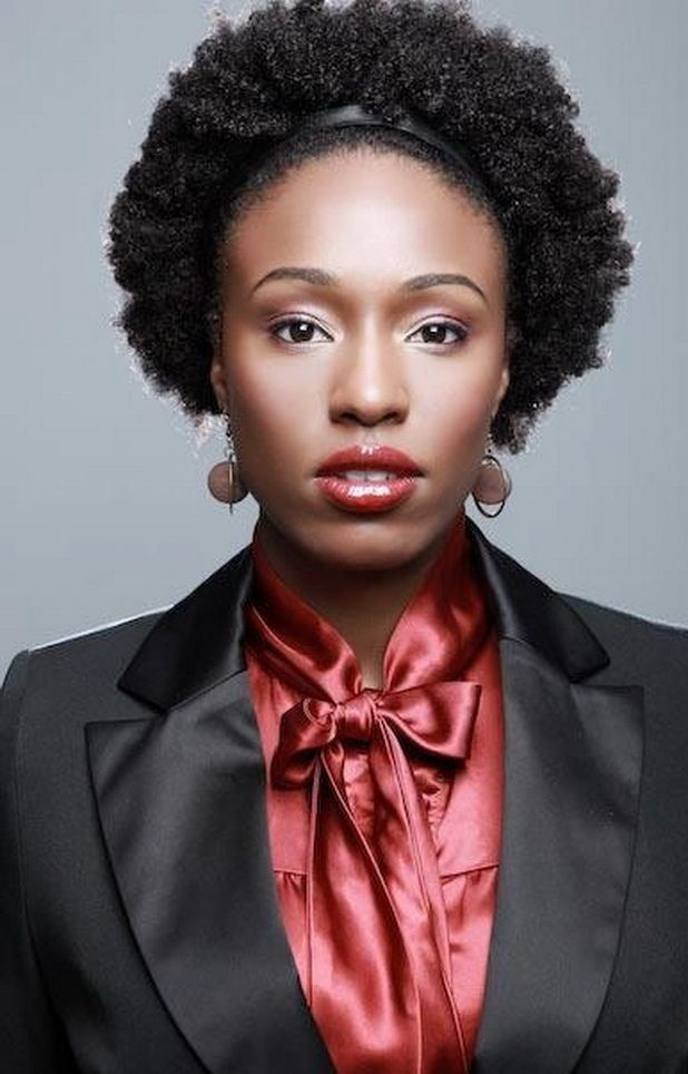 Short Haircuts For N American Curly Hair : 59 best natural hairstyles images on pinterest