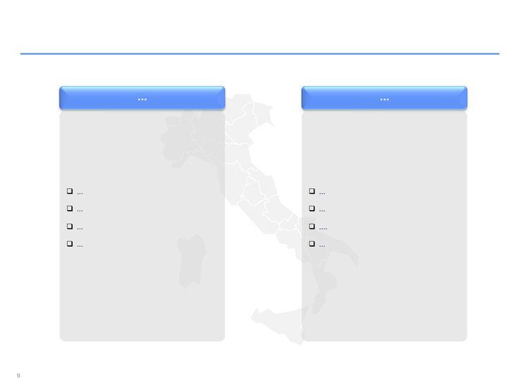 Descarga ahora Mapas de Italia editables en PowerPoint