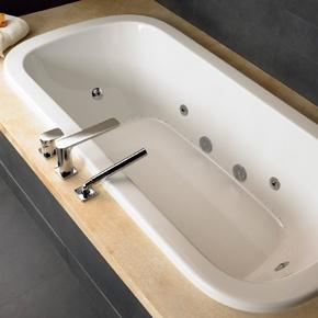 #Rectangular U0026 #rounded Bathtub