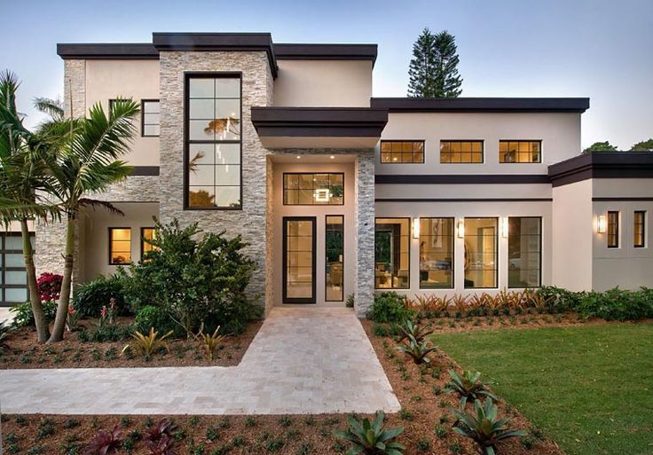 House Plan 71535 Modern Style With 4278 Sq Ft 4 Bedrooms 6 Bathrooms 3 Car Garage Modern Contemporary House Plans Modern Style House Plans Contemporary House Plans