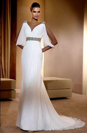 оригинальные свадебные платья в виде туники - Поиск в Google