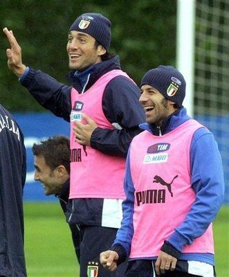 Luca Toni & Del Piero