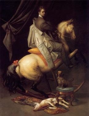 Riccardo Tommasi Ferroni  Autoritratto a cavallo