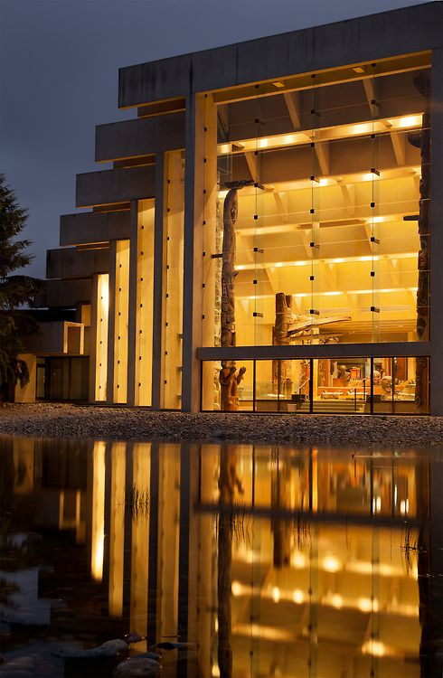 Museum of Anthropology, University of British Columbia :: Arthur Erickson.  Vancouver, CDN