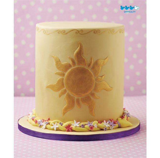Tangled Sun Cake