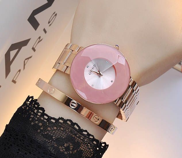 >> Click to Buy << Brand Quartz Watches Waterproof Women's Watches Stainless Steel Bracelet Unique Diamond Glass Luxury Fashion Wristwatches #Affiliate