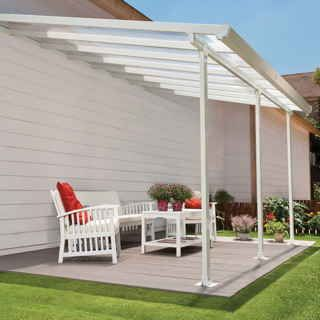 how to build a covered deck on a mobile home
