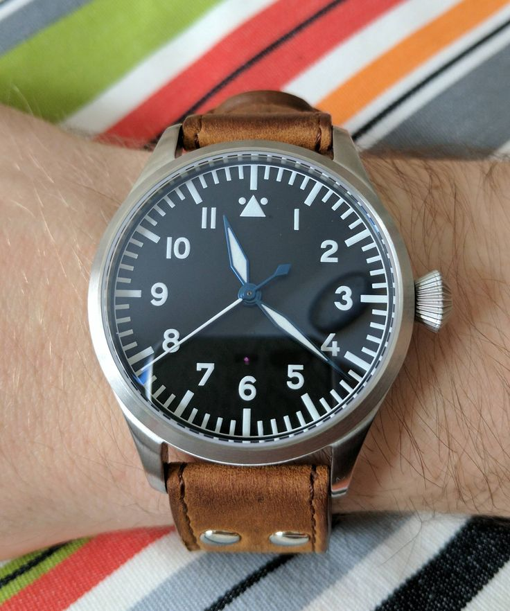 [Tisell] Flieger Type A. A more compact version of the Stowa at 40mm.