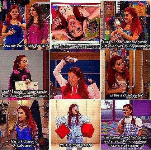 Ariana Grande (as Cat Valentine)