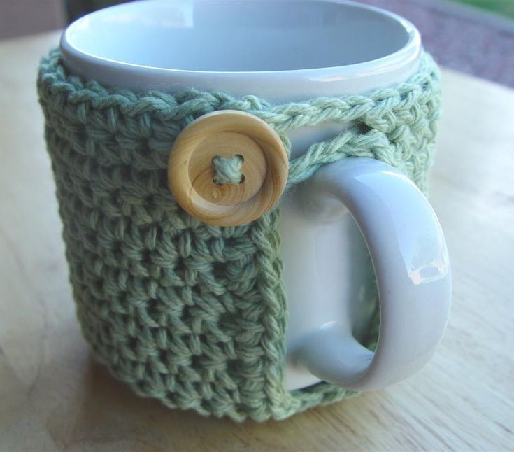 PDF Crochet Pattern  Mighty Mug Cozy by UnravelMe on Etsy, $3.99 - I need to learn more than one crotchet pattern!
