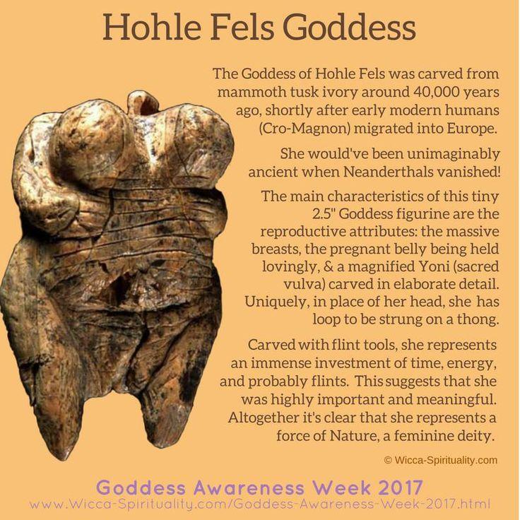 Hohle Fels Bohyně - kolem 40 tisíc let stará...