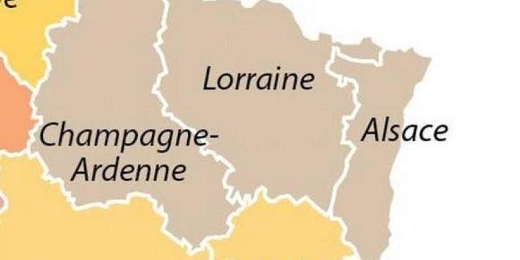 """Le nom """"Grand-Est"""" finalement soumis au vote en Alsace-Champagne-Ardenne-Lorraine"""