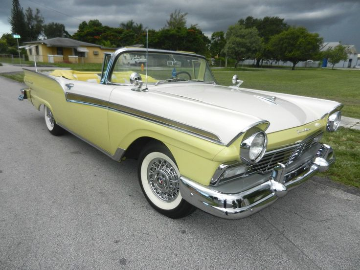 1957 Ford Convertible. Ford ConvertibleAuto ... & 216 best 1957 ford fairlane images on Pinterest   Ford fairlane ... markmcfarlin.com