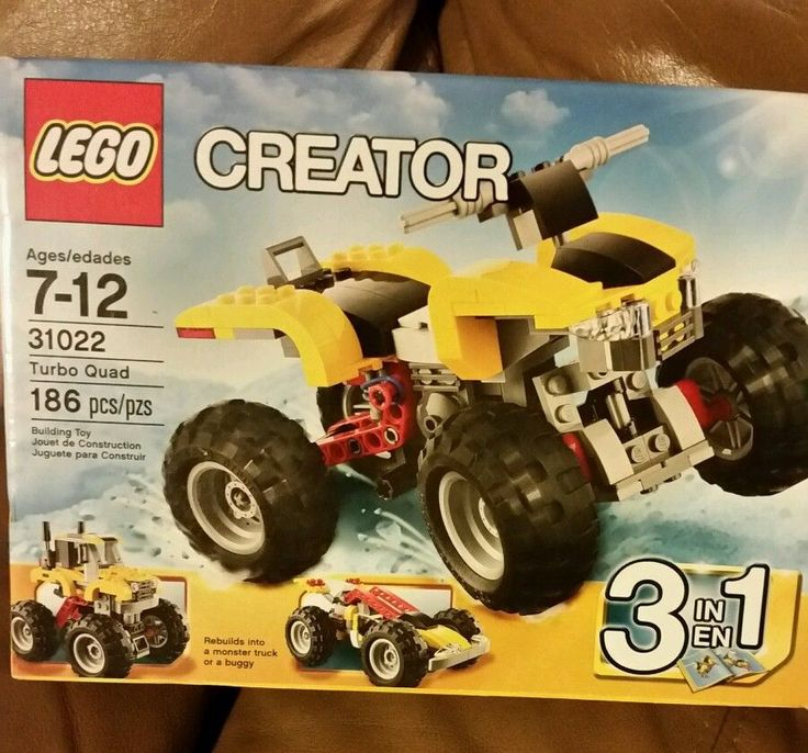 LEGO Creator 31022 Turbo Quad New Sealed Box 186 Pcs #LEGO