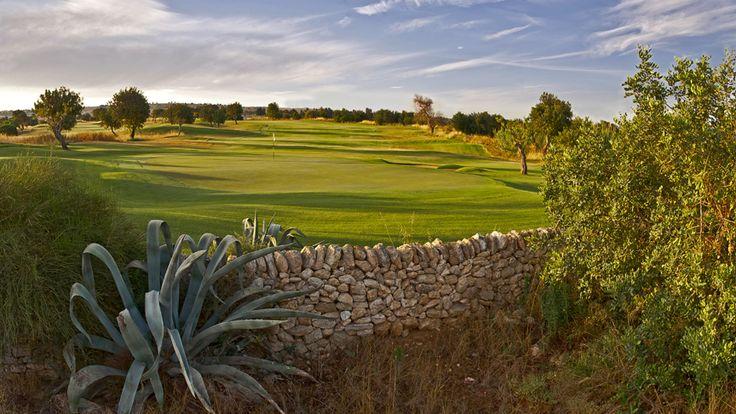 Hole 6 Donnafugata North Course - Parkland in Sicily