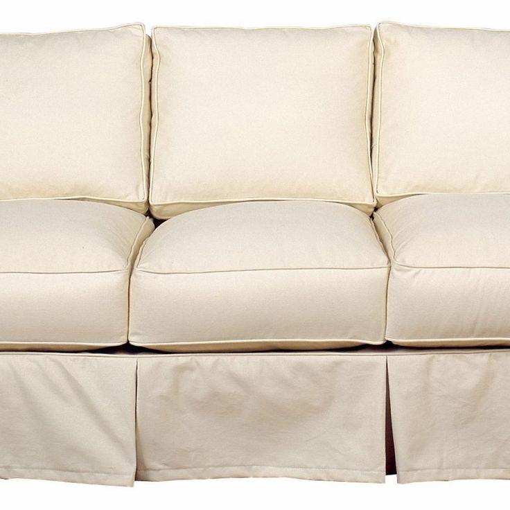 Slipcovered Queen Sleeper Sofa