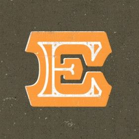 What do you think of this E? #font #typography