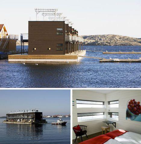 Salt & Sill Floating Hotel, Klädesholmen (Sweden)