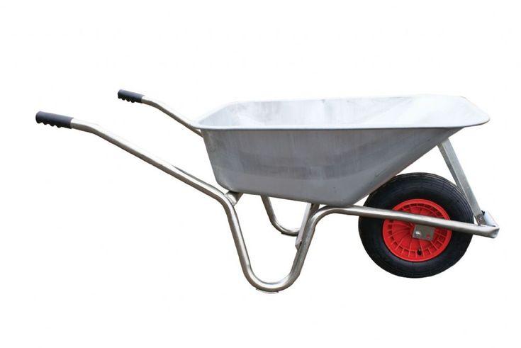 Metal Pan Wheelbarrow Good quality all steel 120 litre heavy duty wheelbarrow…