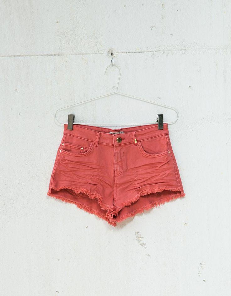 Short BSK sarga rotos - Shorts - Bershka España12,99 €