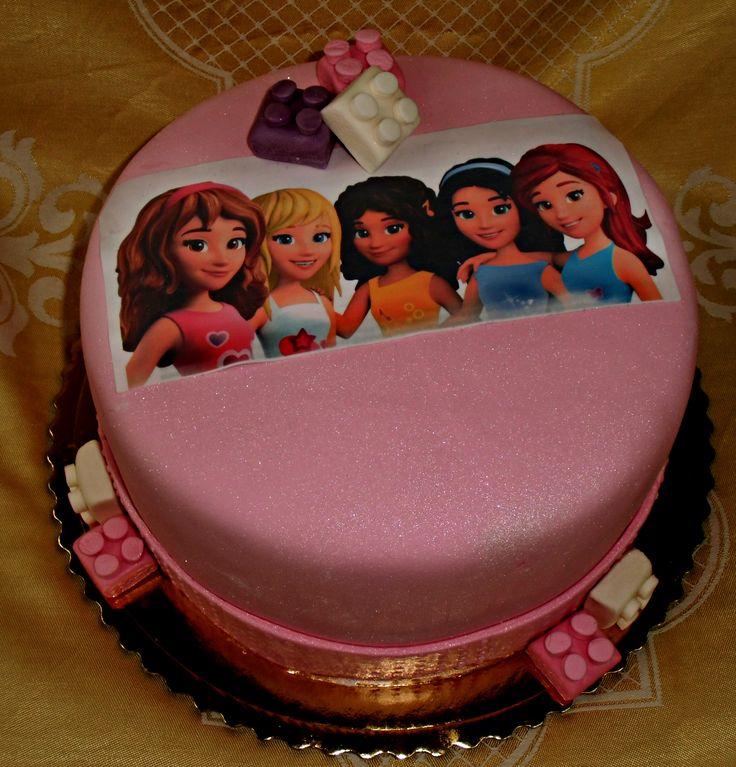 torta lego friends