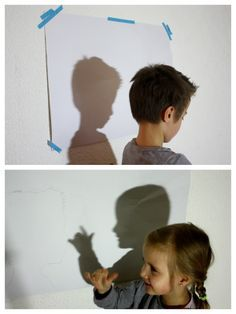 Schatten Bild, Schatten als Geschenk