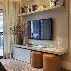 rack para tv ambiente pequeno sala