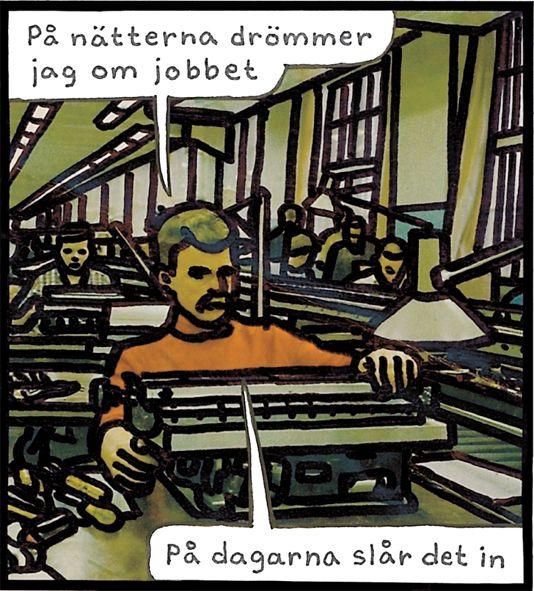 Jan Stenmark 'Arbetet'