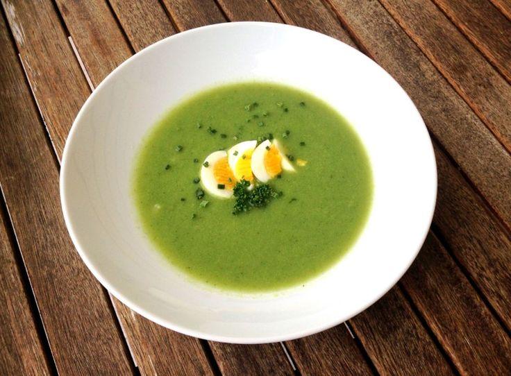 lindastuhaug | Krema spinatsuppe med egg