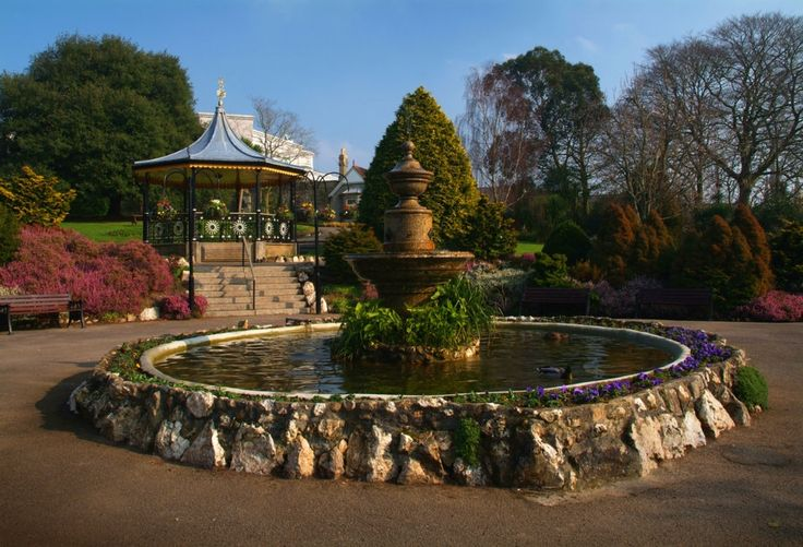 Truro, Bandstands, Flowers, Fountains, Historic Buildings, Leisure, Parks, Paths
