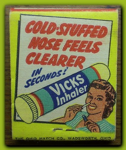 Vicks Inhaler for stuffy noses.