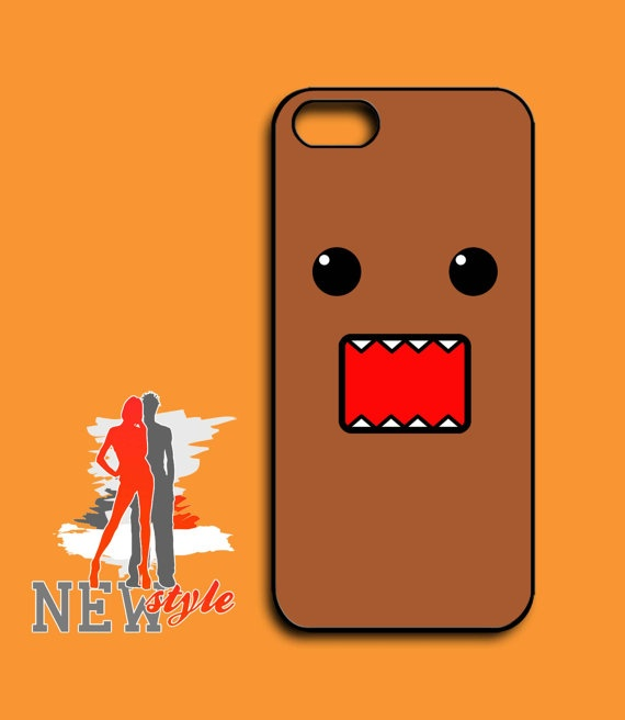 iphone 5 case  Cute domo  iphone 5 case  black by NewStyleDesign, $16.00