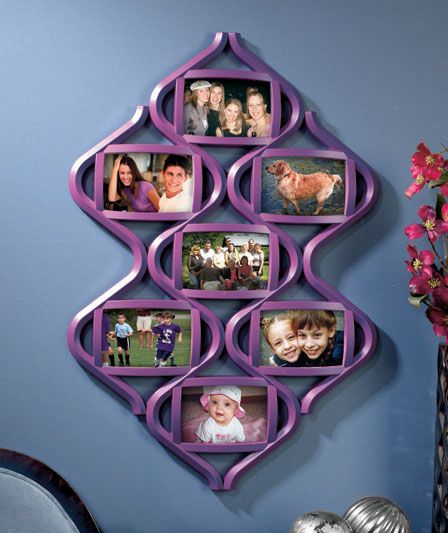 Baby Picture Frame Collage Gallery - origami instructions easy for kids